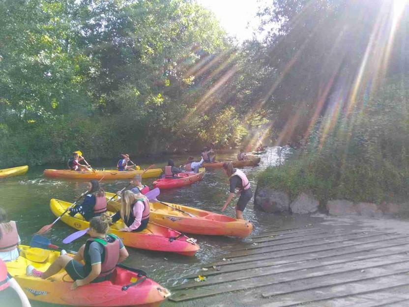 Activité kayak