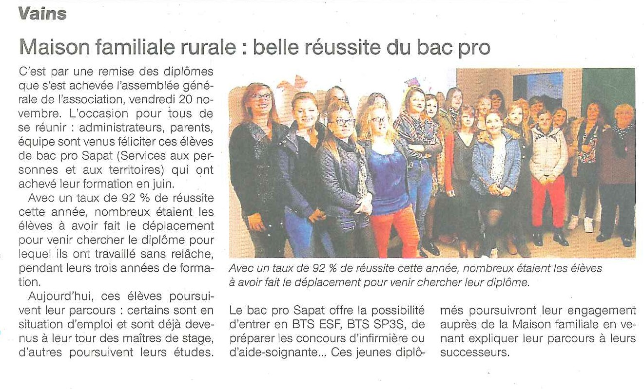 Ouest France 27-11-2015