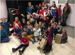 A la MFR : Noël pour les enfants de la commune de Vains