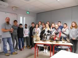 Thème d'étude sur les passions chez les 4èmes : rencontre avec Arnaud Philippe, Fédération de la Chasse